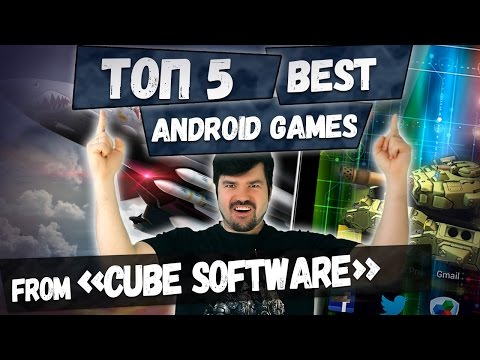 TOP 5 BEST ANDROID GAMES from CUBE Software: The best Russian developers of the year