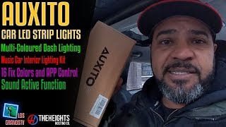 AUXITO Car LED Strip Lights💡: LGTV Review