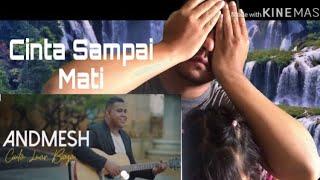 Andmesh Kamaleng - Cinta Luar Biasa | Reaction