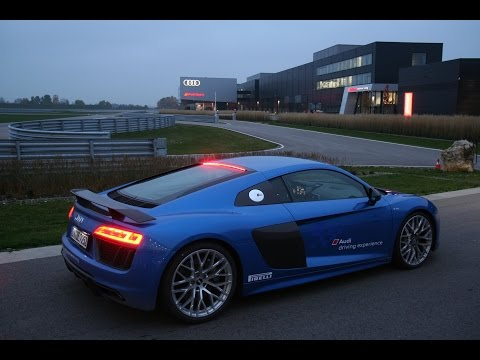 Visit of the Audi Sport Headquarters in Neuburg - Germany