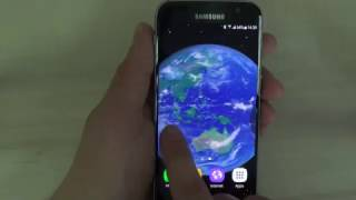 Amazing free space 3D live wallpaper with 3D earth, moon, sun, asteroid belt