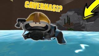 VIREI UM MERGULHADOR NO ROBLOX!? (Scuba Diving at Quill Lake (Beta)