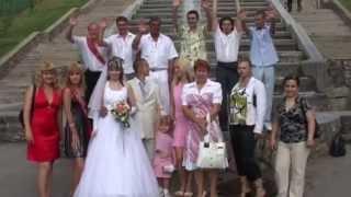 Свадьба Виталий и Оксана 2. 2008 год. Видеосъемка свадьбы в Харькове