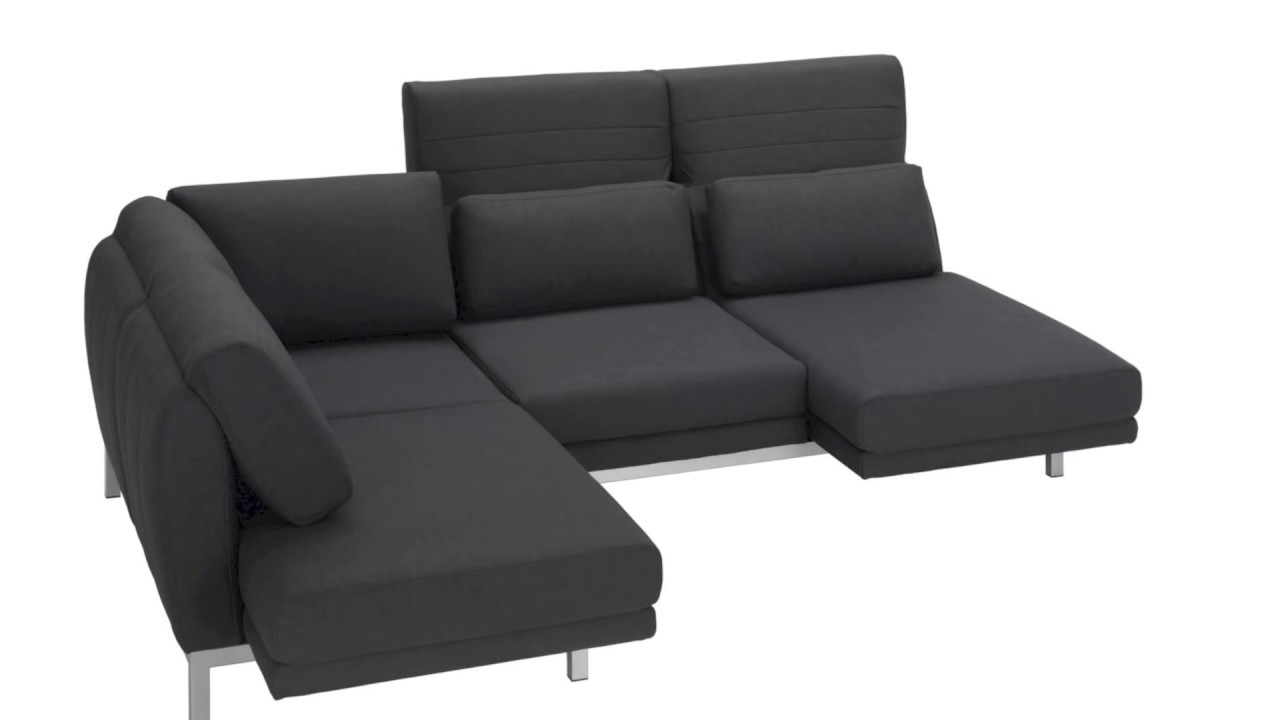 ewald schillig sofa columbo mit funktion r ckenverstellung youtube. Black Bedroom Furniture Sets. Home Design Ideas