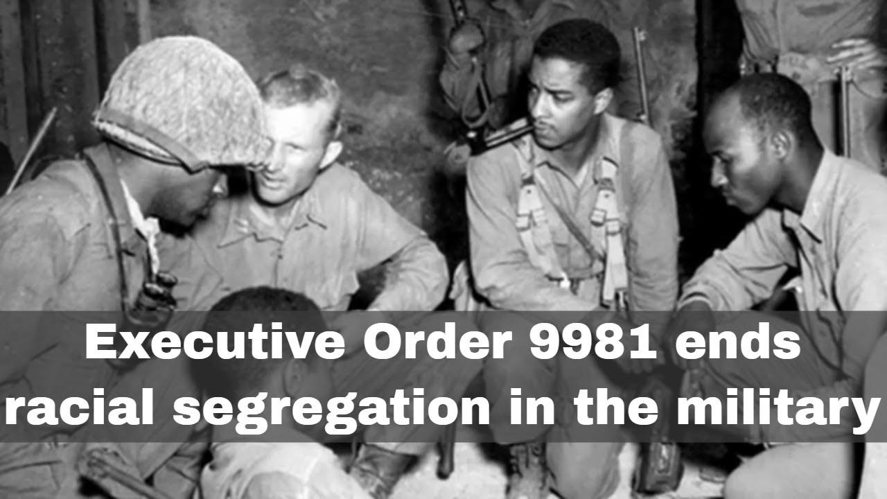 Download 26th July 1948: Executive Order 9981 abolishes racial segregation in the US military