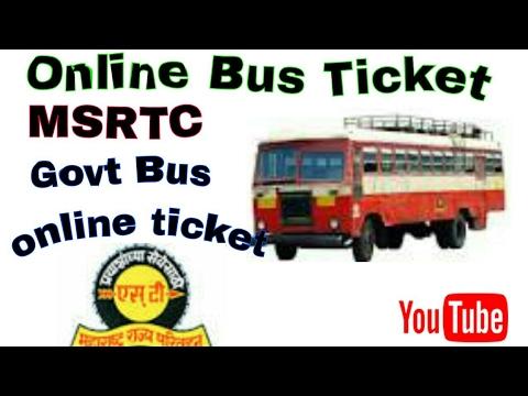 How to book online bus ticket ||MSRTC online booking ||My smart support ||बस टिकट