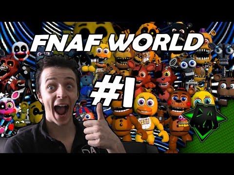 FNAF WORLD (EASY MODE) #1 - DAGames