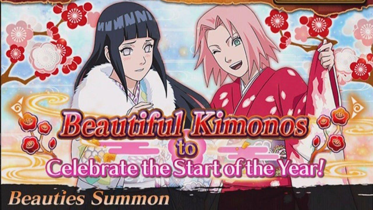 Beauties Summon! Sakura and Hinata Banner! - Naruto shippuden Ultimate Ninja Blazing - YouTube