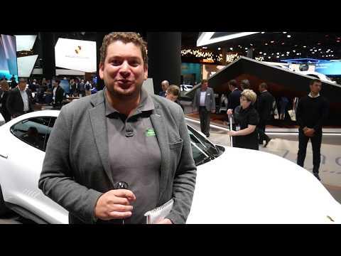 La Porsche Taycan en détails au salon de Francfort