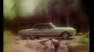 "1965 Ford TV Ad -""The Private World of Thunderbird!"""