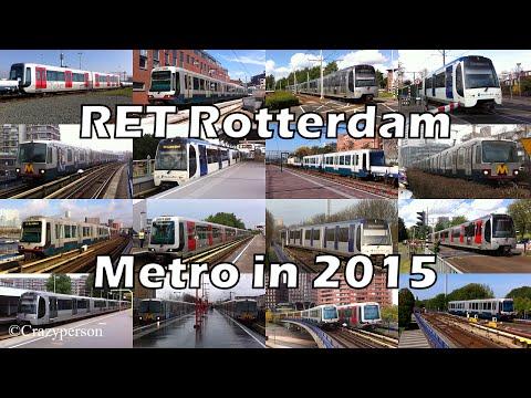 RET Rotterdam Metro in 2015