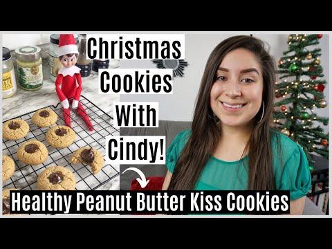 Healthy Peanut Butter Kiss Cookies (Dairy Free Gluten Free Cookies)