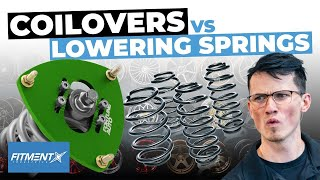 Should You Run Coilovers or Lowering Springs?