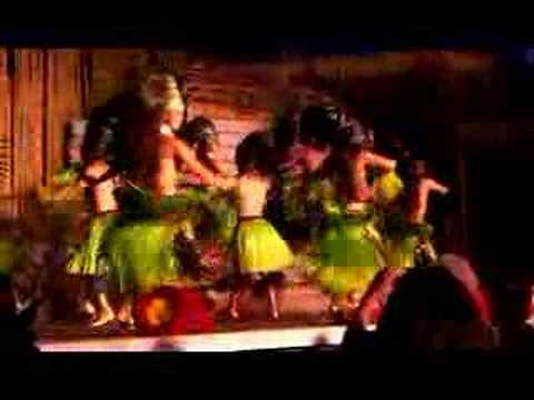 Traditional dancing at Royal Lahaina Hotel Luau, Maui