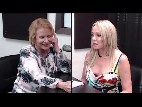 Eve Plumb (Jan Brady) of Brady Bunch Fame, on the BeckyinBoca Show
