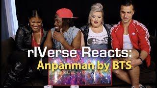 rIVerse Reacts: Anpanman by BTS - Live Performance Reaction