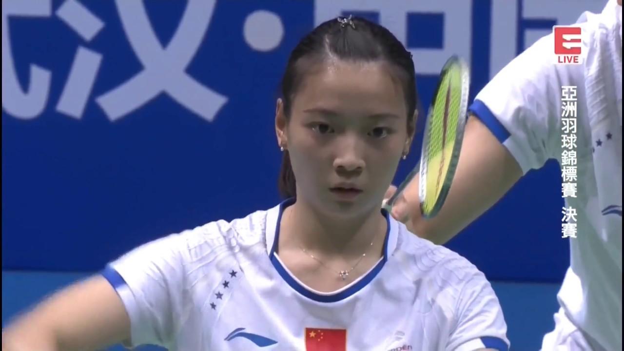 Lu Kai Huang Yaqiong vs Dechapol P Sapsiree T 2017 Badminton