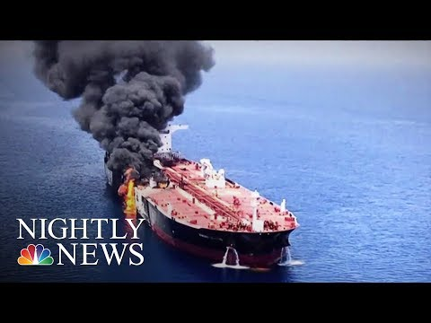 Pompeo Blames Iran For Attacks On Tankers