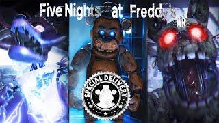Primer Gameplay Fnaf AR Special Delivery !! Nuevo Five Nights At Freddy's Oficial !