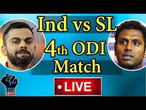 India vs Sri Lanka, 4th ODI, Live Cricket Score: India Lose Dhawan Early vs Sri Lanka