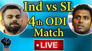 Live :India vs Sri Lanka, 4th ODI, Live Cricket Score: India On Course For Big Score vs Sri Lanka