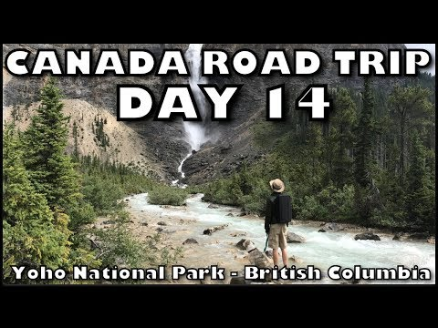 Canada Camping Road Trip - Day 14 -  Yoho National Park in British Columbia