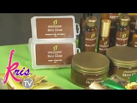 Kris TV: Preggy Ara Showcases Ara's Secret Beauty Products In Kris TV