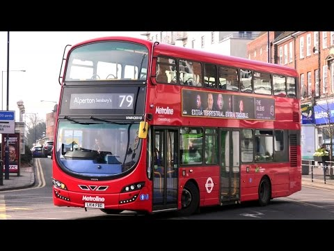 London Buses - Metroline Scrap Book - Volvo and Wrightbus