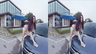 [3D VR] korean car wash / 한국 세차기 / coreana lava carro  (2) (Cardboard)