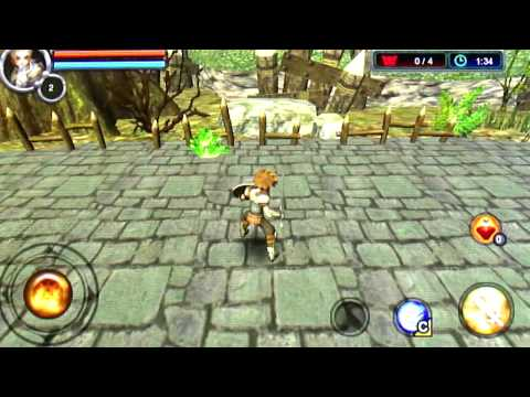 3D RPG Heaven Sword Android Gameplay