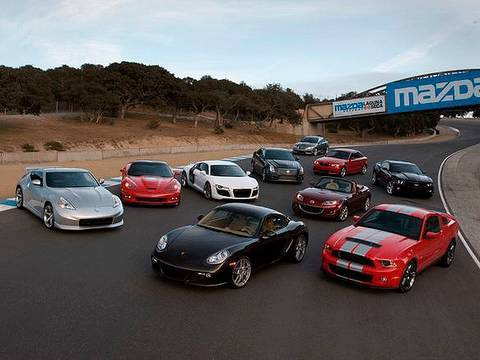 2009 motor trend best driver 39 s car competition overview for Motor trend channel youtube