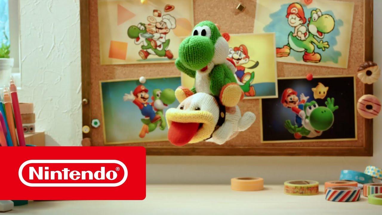 [3DS] Une bande-annonce de découverte pour Poochy & Yoshi?s Woolly World