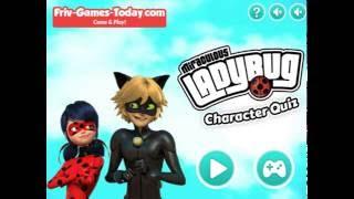 Мультик игра Леди Баг и Супер Кот тест (Miraculous Ladybug Character Quiz)