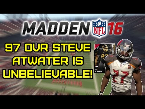 97 OVR Steve Atwater Is Unbelievable! - Madden 16 Ultimate Team H2H Seasons