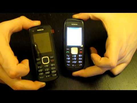 Nokia C1-02 против Nokia 1800