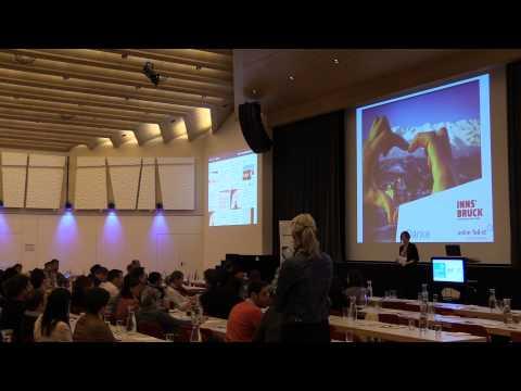 """TFF 2015, Monica Nadegger, Innsbruck Tourismus,  """"Lead Generierung und Sales über Social Media"""""""