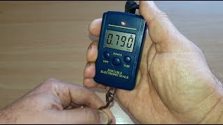 Мини электронные весы для рыбалки 10 г. - 40 кг.