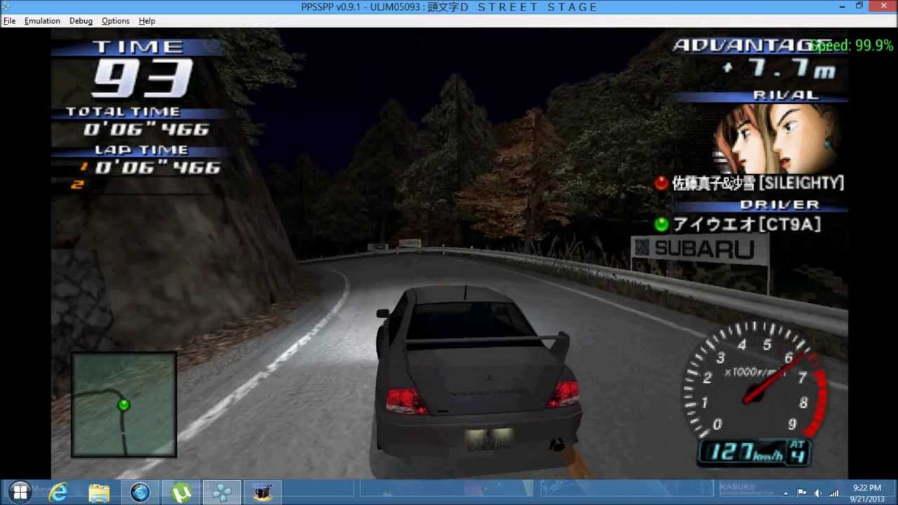 Initial d: street stage (japan) psp iso free download.
