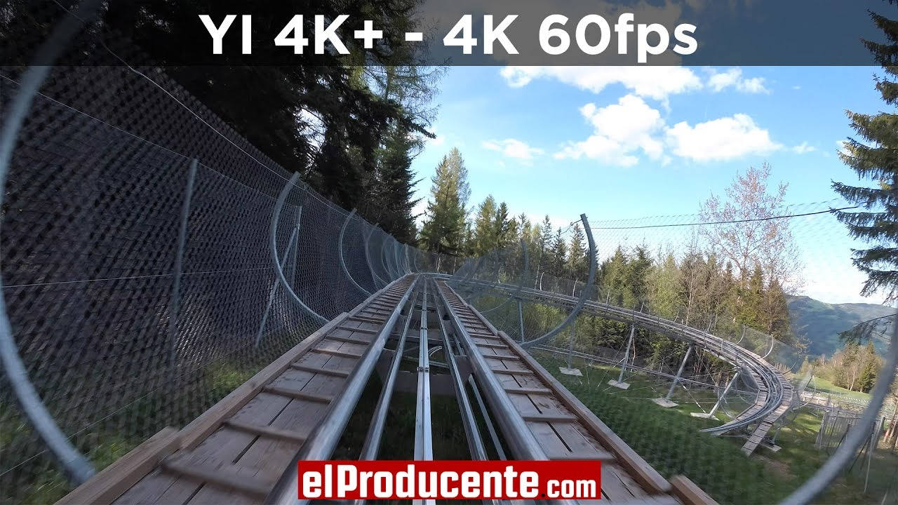 YI 4K+ Action Camera - 4K 60fps camera - Review - el Producente