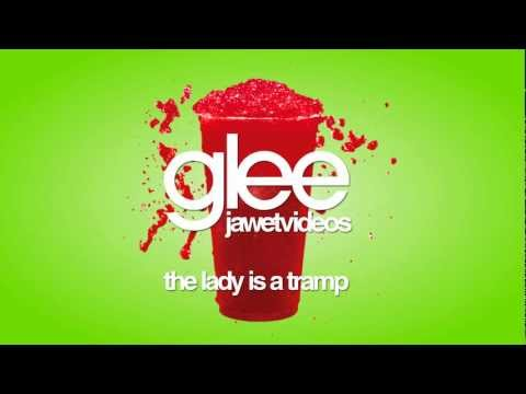 Glee Cast - The Lady is a Tramp (karaoke version)