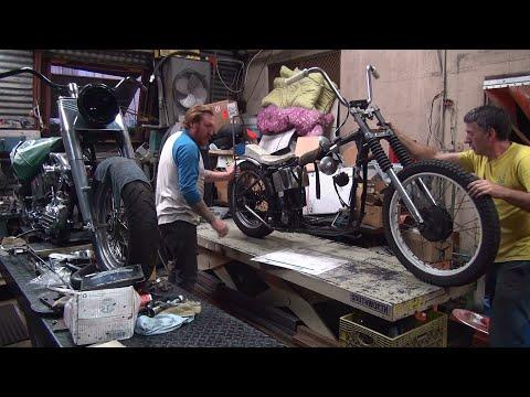 1972 XL Ironhead Bobber #208 Sportster motor rebuild #2 bike repair harley  by tatro machine