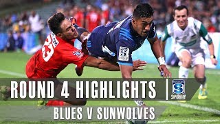 ROUND 4 HIGHLIGHTS: Blues v Sunwolves – 2019