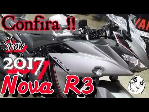 Nova YZF-R3 2017 / 2018