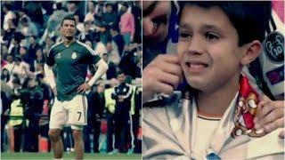 Cristiano Ronaldo surprises  10  kids ● Emotional Moments | Surprising Events