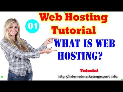 Web Hosting Tutorials- What Is a Webhosting - Web Hosting Definition