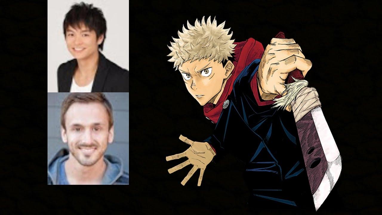 Anime Voice Comparison Yuji Itadori Jujutsu Kaisen Youtube