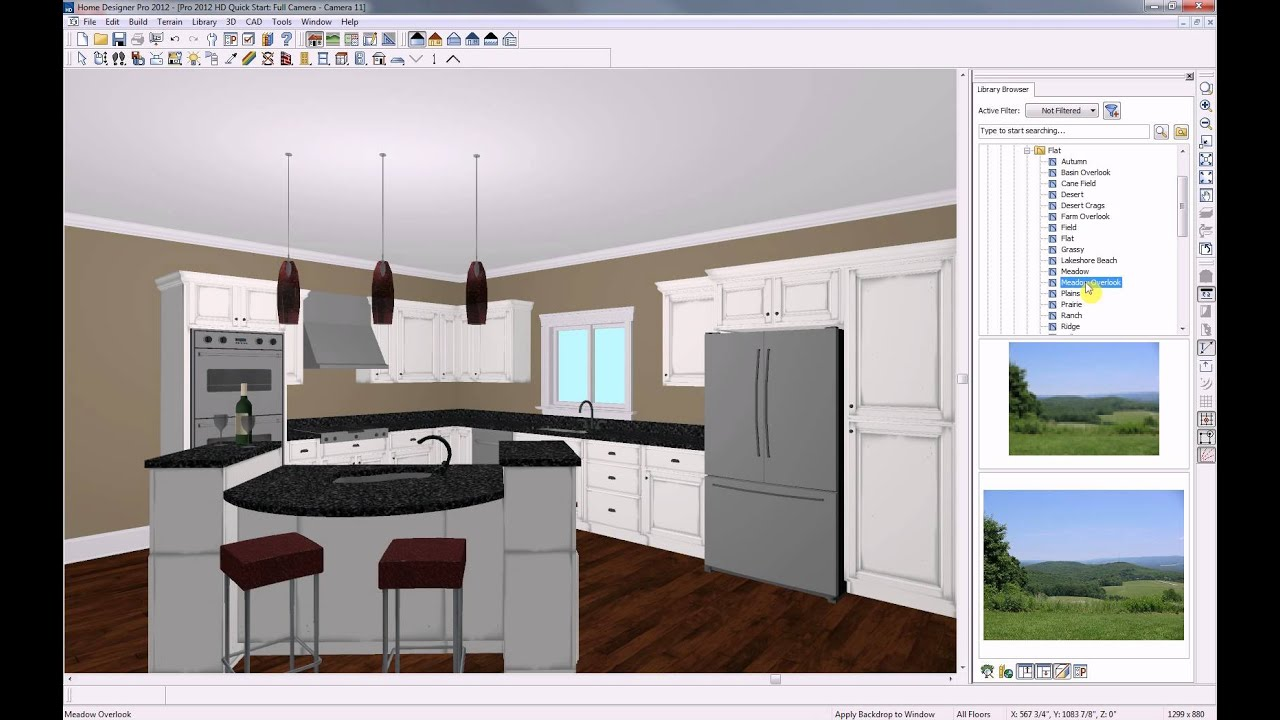 Home designer software quick start seminar youtube for Total interior designs inc