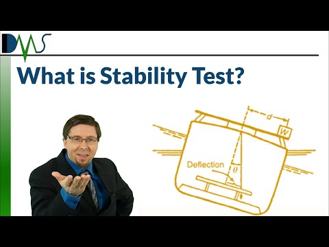 What is a Stability Test:  Why You Deserve One