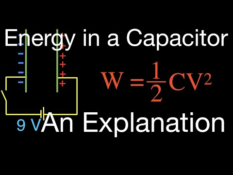 Energy Stored in a Capacitor, An Explanation