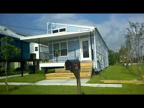 """Brad Pitt houses aka """"Make it Right"""" New Orleans"""